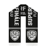 Scarf knitted SFF logo + second scarf free